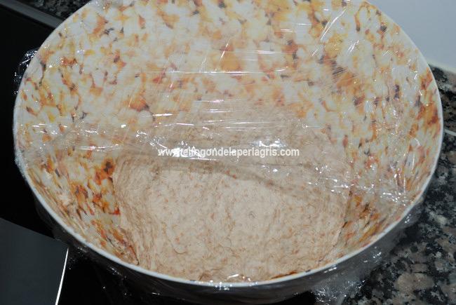 Dejar que la masa del pan suba