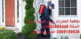 مكافحة الحشرات ورش المبيدات 0535220955 جميع مدن المملكة جدة مكة الرياض الطائف pest control