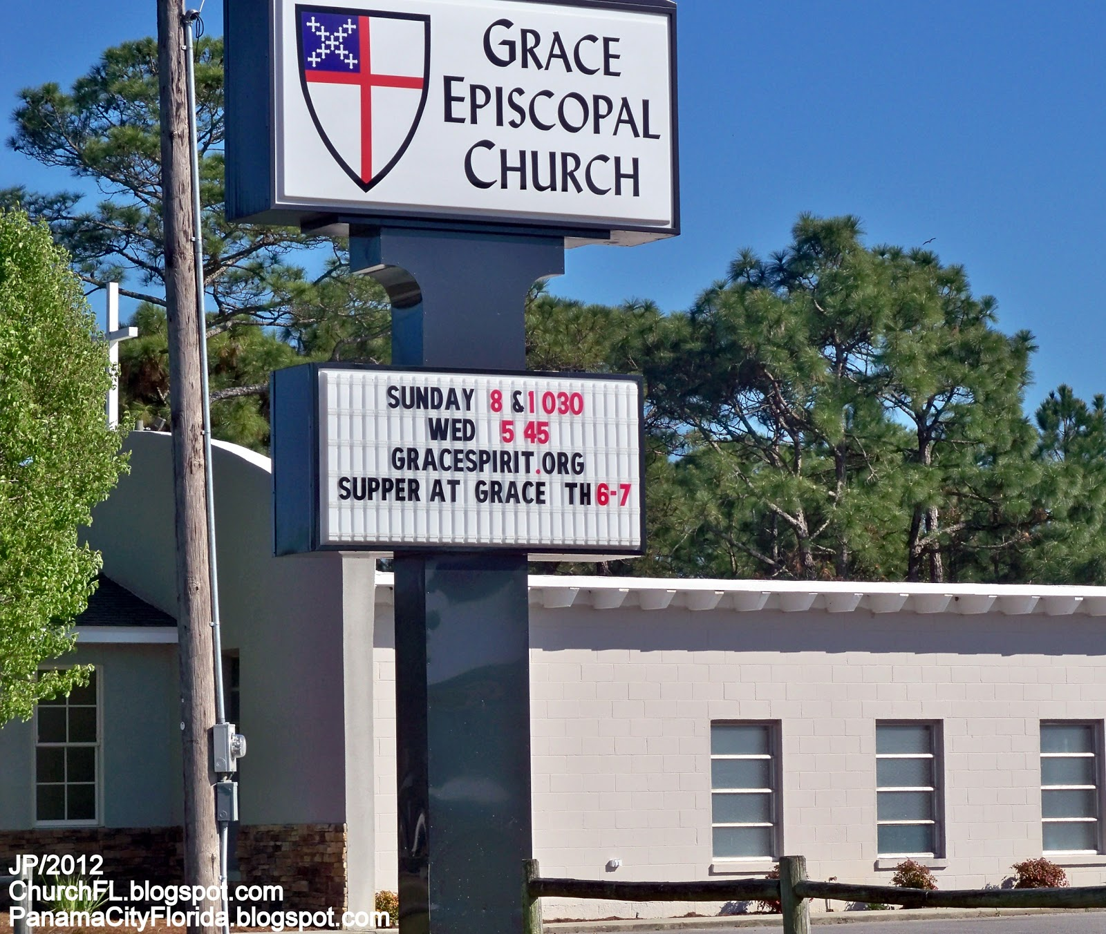 Grace Episcopal Church Panama City Beach Florida Pkwy Bay County Fl Pcb