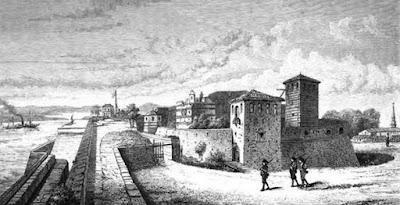 Cetatea Vidin in sec. XIX