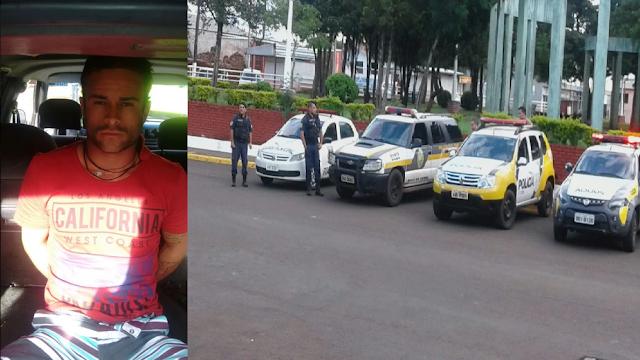 Polícia prende fugitivo após denúncia anônima em Mauá da Serra