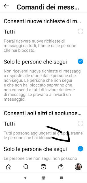 Instagram link con virus