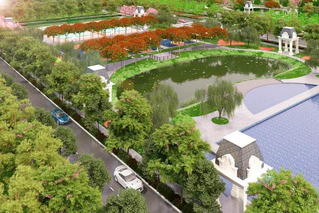 Công viên khu đô thị đại học Vân Canh