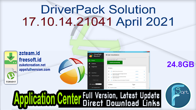 DriverPack Solution 17.10.14.21041 April 2021 _ ZcTeam.id