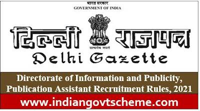 Publication Assistant Recruitment