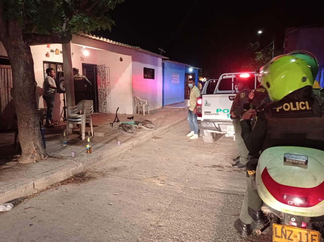 hoyennoticia.com, Policía impuso 43 comparendos en La Guajira