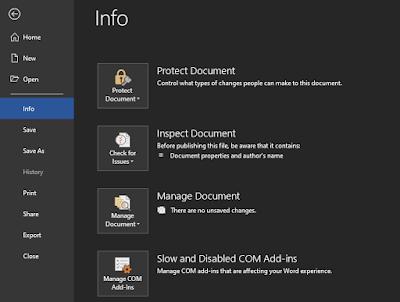 Cara Mengenkripsi File Microsoft Word