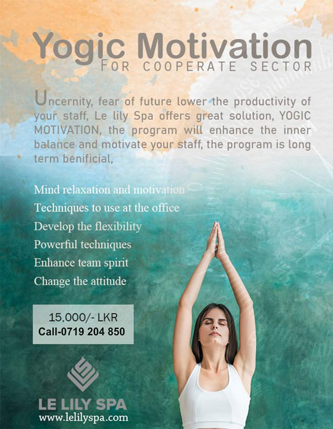 Le Lily Spa - Yogic Motivation for Cooperate Sector.