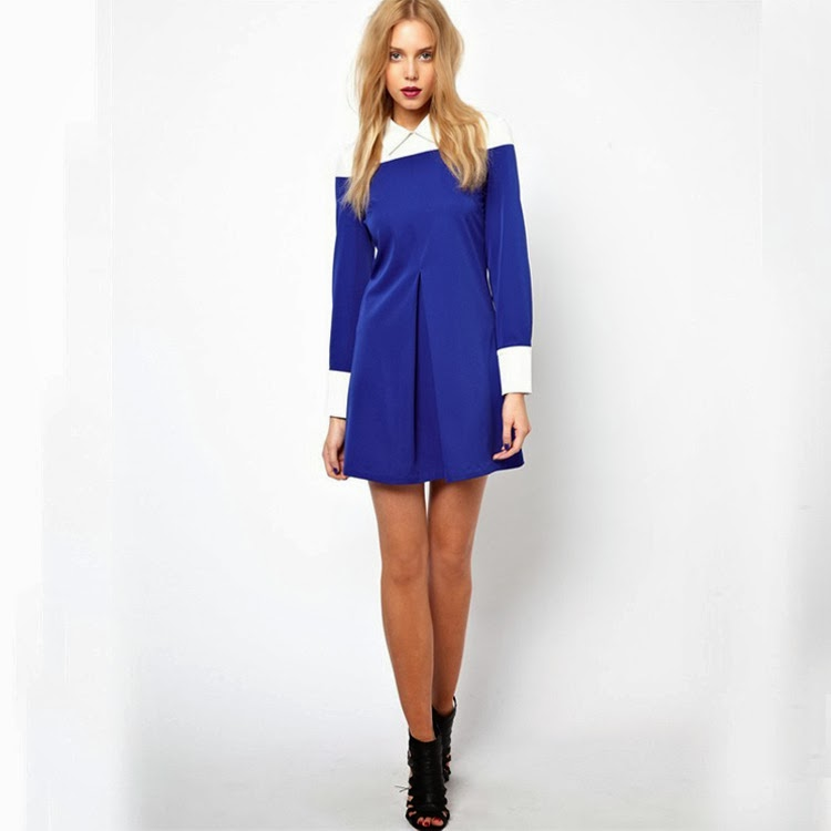 http://www.koees.com/koees-7268-Blue-constrast-white-long-sleeve-lapel-dress-WQZ10977.html