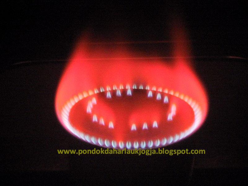 Pondok Dahar Lauk Jogja Tanda Bahwa Api Kompor Gas Tidak Normal