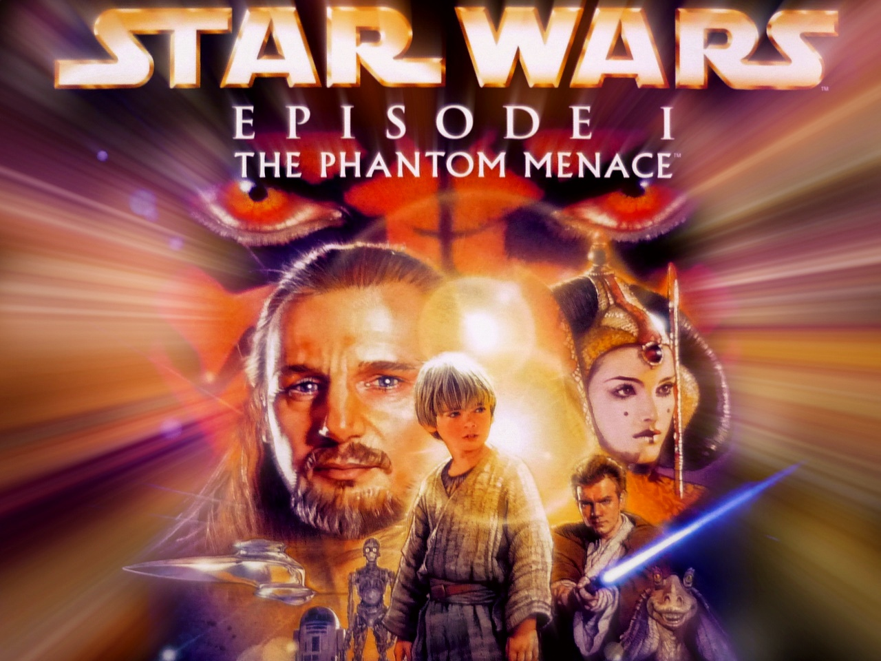 تحميل لعبة حرب النجوم القديمة Star Wars Episode I: The Phantom Menace