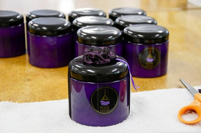 Gifting Lavender Sugar Scrub by Pelindaba Lavender