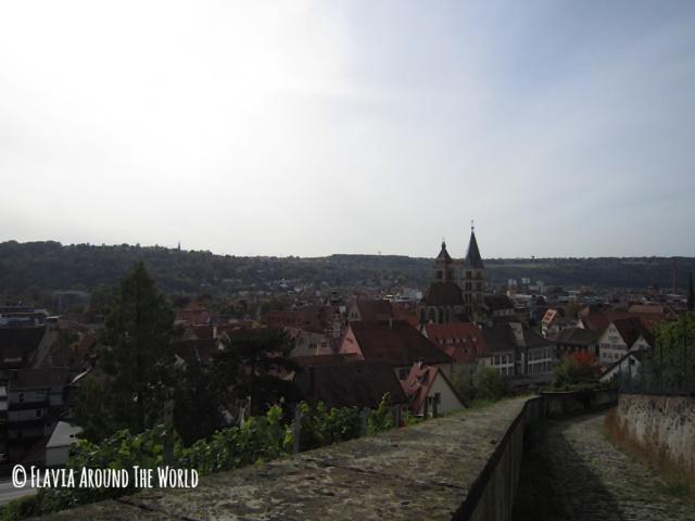 Subida al castillo de Esslingen