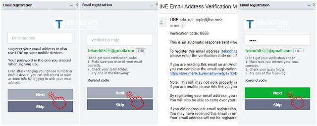 mendaftarkan e-mail