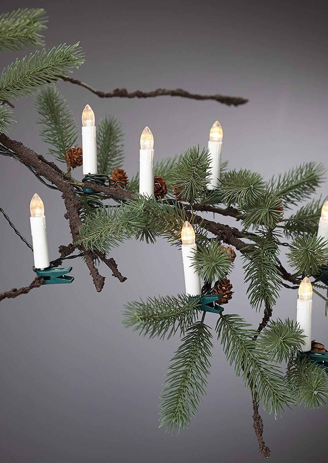 Joulukuusen Kynttilät