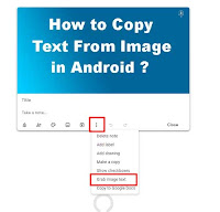 copy text from image
