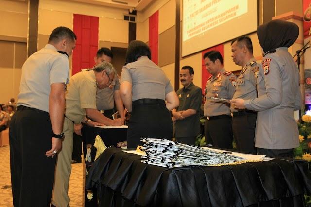 Rekrut Calon Anggota Polri,Kepolisian Resort Lutim Kerjasama Dengan Pemerintah Daerah