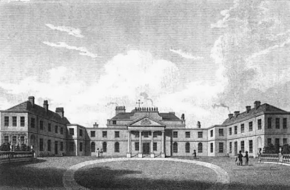 The Earl of Jersey's seat at Middleton Stoney, Oxfordshire  from Oxfordshire, The history and antiquities of the hundreds of Bullington and Ploughley by J Dunkin (1823)