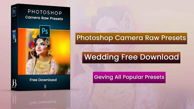 Photoshop Camera Raw Presets Wedding Free Download | Wedding Camera Raw Presets