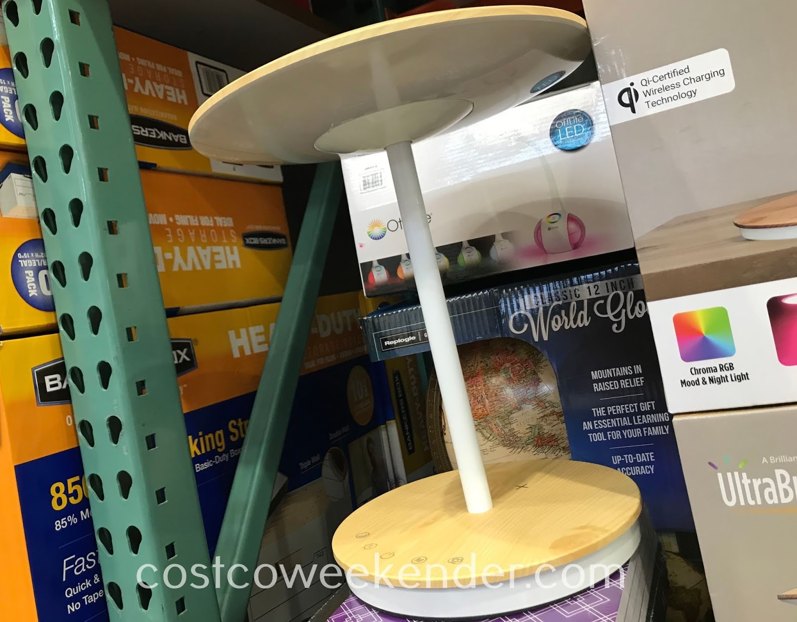 Light up your room or charge your phone with the UltraBrite Dome LED Desk Lamp