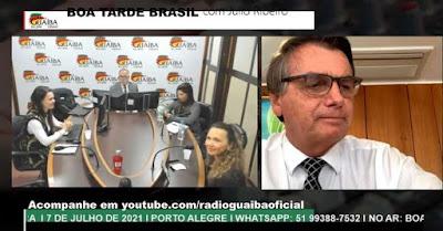 Bolsonaro faz ameaça de acabar com eleição em 2022