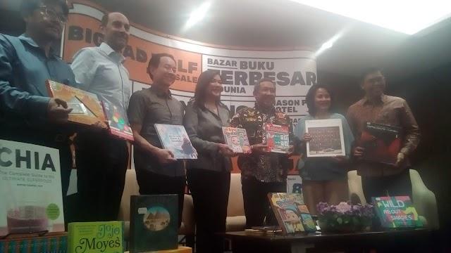 Kali Pertama, Bazar Buku Terbesar Big Bad Wolf Digelar Di Bandung