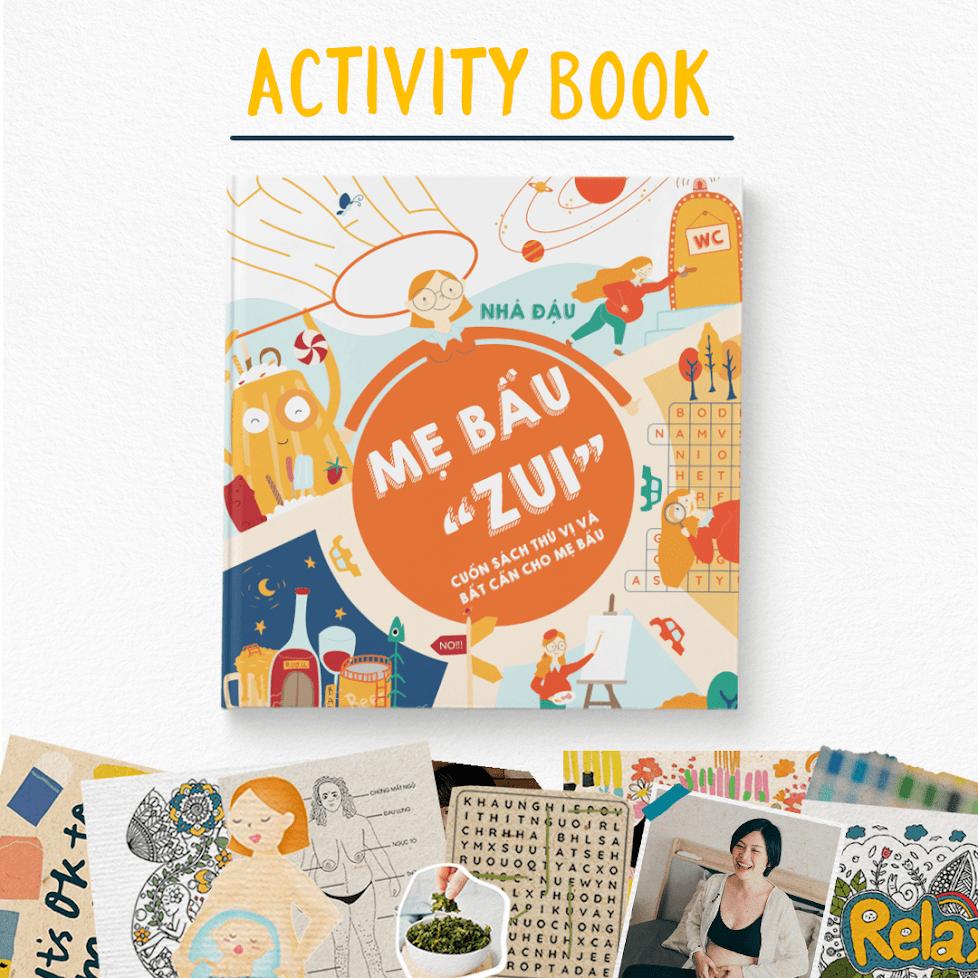 """[A116] Ebook """"Mẹ Bầu Zui"""": Cuốn sách giúp Mẹ """"đánh bay"""" stress"""