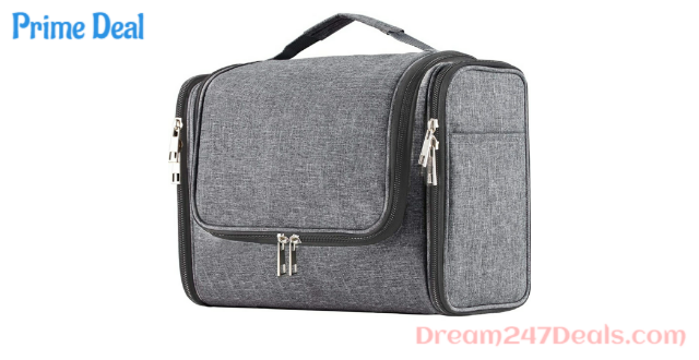 40% OFF Extra Large Capacity Hanging Toiletry Bag