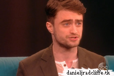 Updated: Daniel Radcliffe on The View + Inishmaan Aunties photo