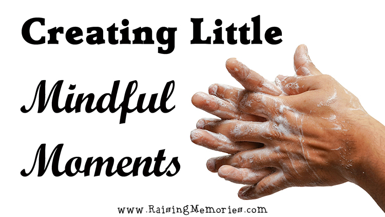 mindful hand washing