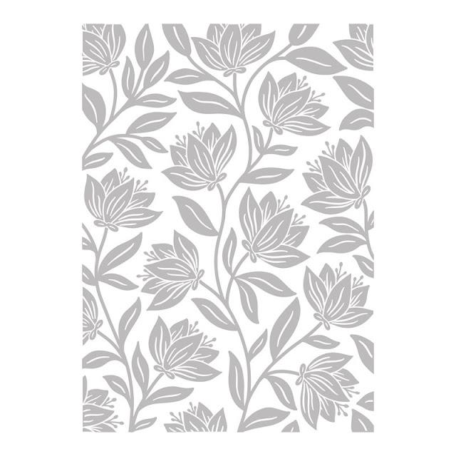 Botanical Embossing Folder