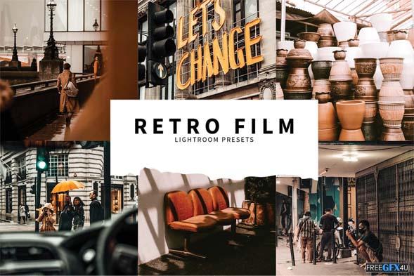 10 Retro Film Lightroom Presets