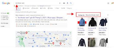 Mẫu quảng cáo google ads