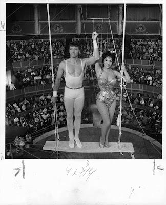 Trapeze 1956 Gina Lollobrigida Burt Lancaster Image 1