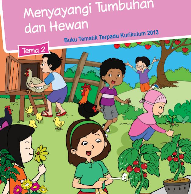 Buku Siswa Kelas 3 SD/MI Tema 2: Menyayangi Tumbuhan dan Hewan