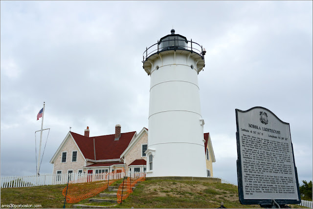 Nobska Lighthouse en Falmouth, Massachusetts