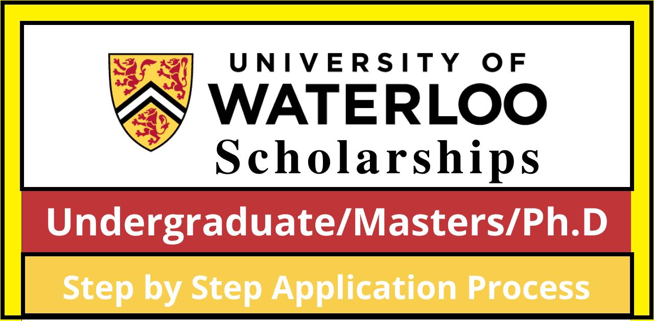 منحة جامعة واترلو الدراسية 2022 (ممولة بالكامل)