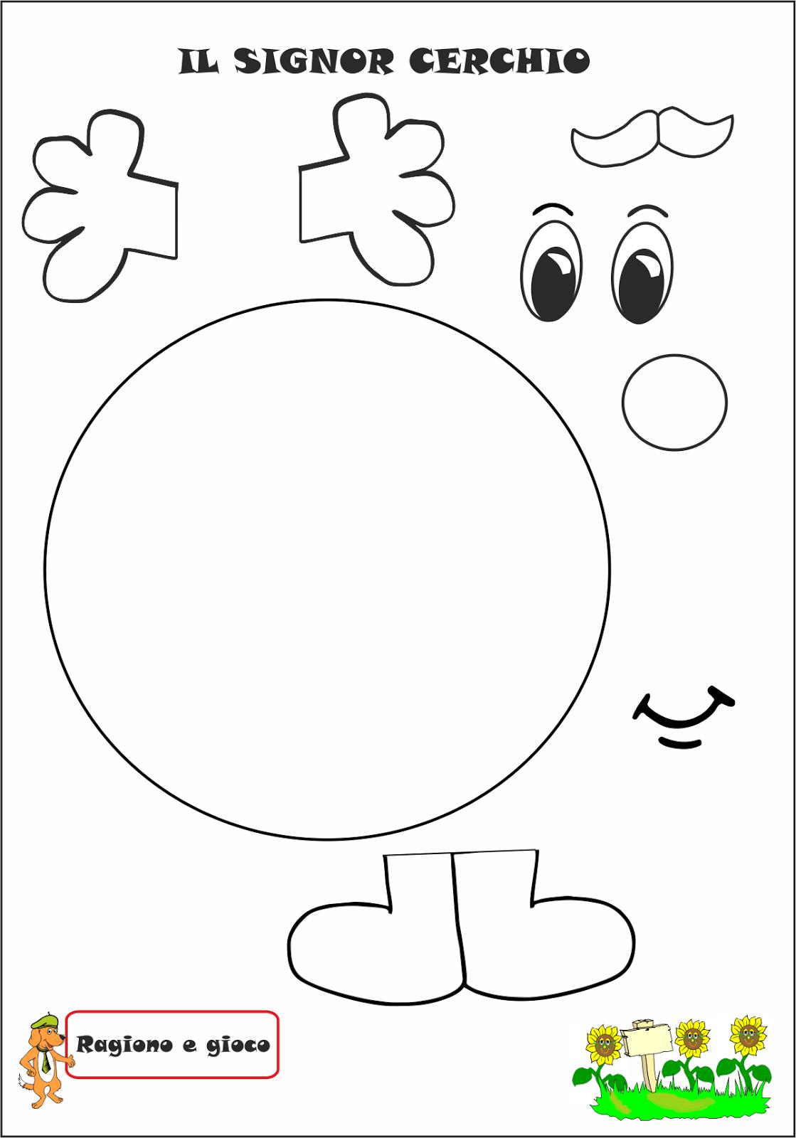 A Scuola Con Poldo Il Signor Cerchio