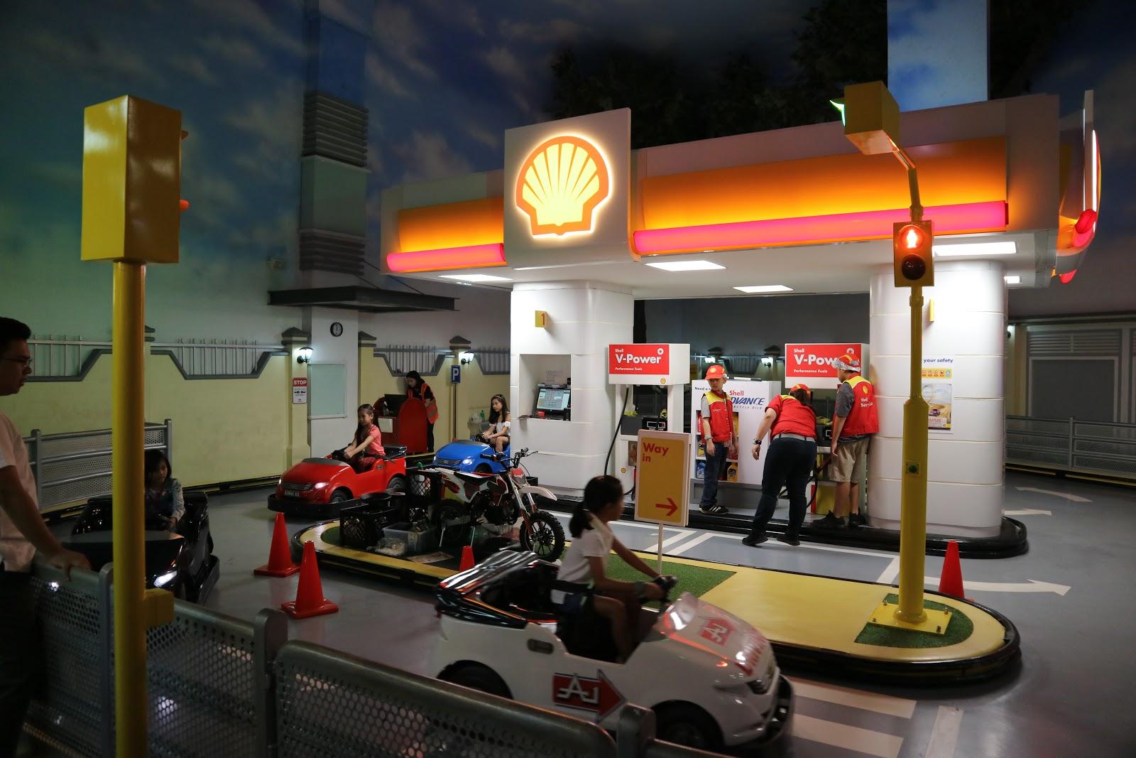 Shell in KidZania Manila