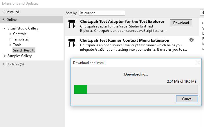 Rwd testing for angular js application