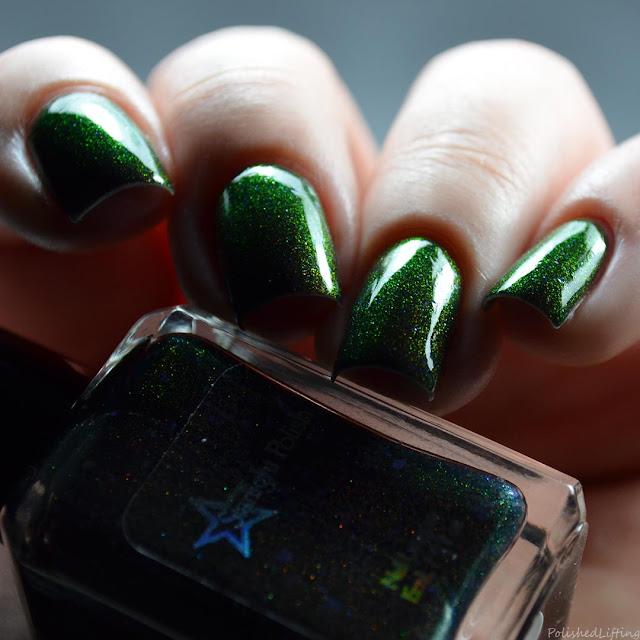 color shifting unicorn pee nail polish