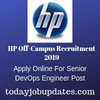 HP Off-Campus Recruitment 2019