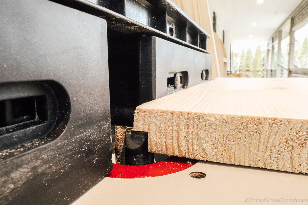 Using a router to make your own shiplap boards