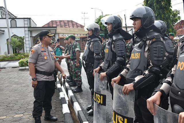Polres Muba Persiapkan Pengamanan Pilkades Serentak