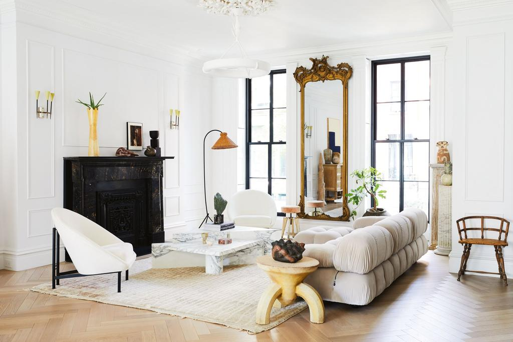 The chic Brooklyn townhouse of lifestyle guru Athena Calderone