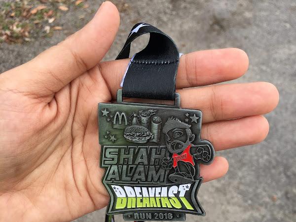 Shah Alam Breakfast Run 2018