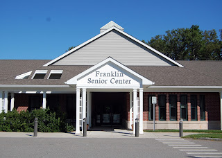 Franklin Senior Center: Email blast 8-14-2020