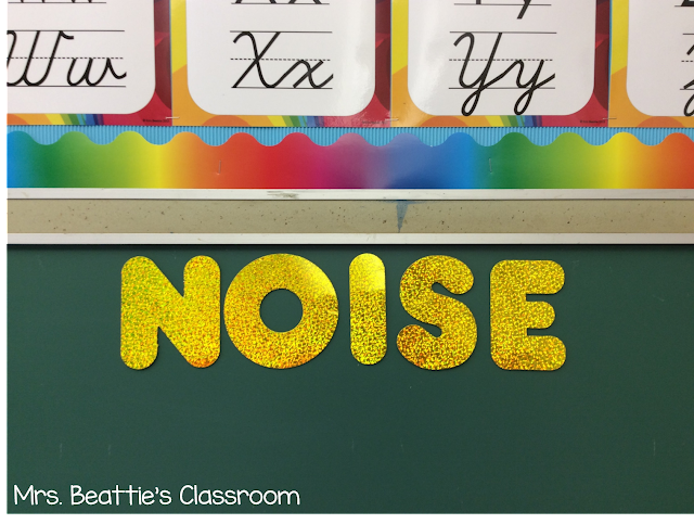 Managing noise levels in the classroom can be challenging. Grab this classroom management tip to help reduce student noise in your classroom!