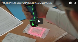 7 Useful GADGETS for Students - You Must Watch, gadgets that help in Study and documentation in college or in office. best gadgets for college students, gadgets for university students, best tech for college students, electronics for college students for studying,