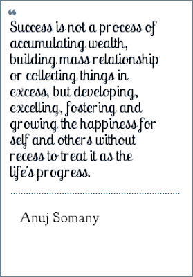 Sayings About Success By Anuj Somany